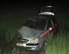 Tàu hỏa tông taxi văng xuống ruộng, 4 người thương vong