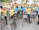 Hứng khởi buổi roadshow đạp xe cổ vũ nghị lực Việt
