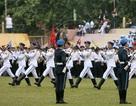 Diễu binh trên đường Đại tướng