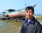 Tàu cá bị sóng đánh chìm, 7 ngư dân may mắn thoát chết