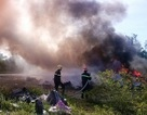 Cuống cuồng bỏ trốn sau khi đốt phế liệu gây cháy lớn