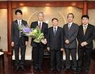 Lãnh đạo Vietcombank tiếp phó chủ tịch ngân hàng Mizuho