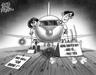 """Một lần """"vạ miệng"""", cấm cửa đi máy bay cả đời"""