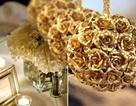 Hoa hồng dát vàng giá siêu rẻ: 5,3 triệu đồng/10 bông