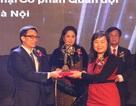 Ngân hàng duy nhất nhận Giải Vàng Chất lượng Quốc gia 2013
