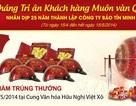 Bảo Tín Minh Châu tri ân khách hàng nhân kỷ niệm 25 năm thành lập