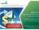 Vietcombank triển khai dịch vụ chuyển tiền nhanh liên ngân hàng 24/7 tại ATM