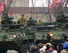 Đoàn xe quân sự Mỹ diễu hành qua 6 nước Đông Âu