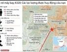 [Infographics] Các lực lượng tham gia cứu nạn vụ rơi máy bay A320