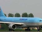 """Máy bay Korean Air """"chém"""" đứt đuôi máy bay Thái Lan"""