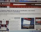 Truyền thông Algeria ca ngợi Chiến thắng 30/4