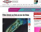 Báo chí Pháp quan tâm tới tình hình Biển Đông