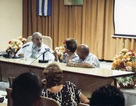 Lãnh tụ Cuba Fidel Castro gặp gỡ các chuyên gia