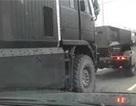 Xe bọc thép tối mật của Nga hiên ngang đi trên đường