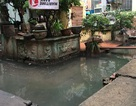 """Quận Ba Đình chậm """"giải cứu"""", 12 hộ dân vẫn ngập trong nước thải"""
