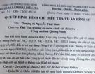 """Quảng Ninh: Công dân khiếu nại việc đình chỉ điều tra vụ """"công nhiên chiếm đoạt tài sản"""""""