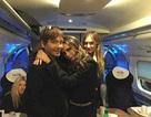 Victoria Beckham gây chú ý khi di chuyển bằng tầu điện ngầm