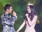 Angelababy xinh như công chúa, tình tứ cùng Huỳnh Hiểu Minh