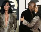 Vợ chồng Kim Kardashian hôn nhau say đắm trên thảm đỏ