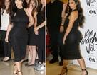 """Kim Kardashian khoe thân hình """"đồng hồ cát"""" sau khi giảm 9kg"""