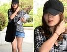 Song Hye Kyo khoe chân nuột nà với quần short ngắn