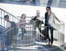 Đại gia đình Brangelina xuất hiện thu hút tại sân bay