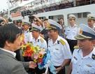 Vùng 4 Hải quân tổ chức lễ tiễn quân ra Trường Sa