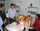 Ngày Tết, Bộ trưởng Thăng thăm nạn nhân TNGT