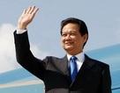 Thủ tướng lên đường dự Hội nghị cấp cao Mekong - Nhật Bản