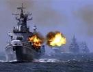 6 tàu khu trục tên lửa Trung Quốc tập trận tại Hoa Đông