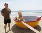 Hải quân Hoa Kỳ ấn tượng với thuyền thúng cứu hộ của Đà Nẵng