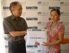 Gia đình em Đào Trung Kiên ủng hộ Quỹ Nhân Ái hơn 150 triệu đồng