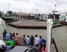 Xà lan chở đá bị tàu đâm chìm, 4 người suýt chết