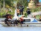 Chìm bè trên sông, 1 người chết, 2 người mất tích