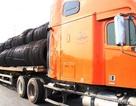 """Tạm giữ xe đầu kéo chở 56 tấn thép """"mập mờ"""" nguồn gốc"""