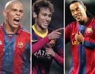 Neymar đang tiếp bước Ronaldinho