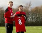 Juan Mata tiếp quản chiếc áo số 8 tại MU