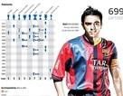 Xavi hướng tới trận đấu thứ 700 trong màu áo Barcelona