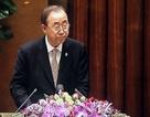 Ông Ban Ki-moon bày tỏ ấn tượng về Việt Nam trước 500 đại biểu Quốc hội