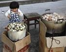Trứng luộc nước tiểu - cao lương ở Đông Dương, Trung Quốc