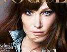 Cựu đệ nhất phu nhân Pháp Bruni-Sarkozy làm mẫu cho Vogue