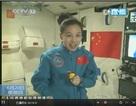 Nữ du hành gia Trung Quốc giảng bài trực tiếp từ vũ trụ