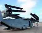 Lên máy bay cánh quạt xoay của lính thủy đánh bộ Mỹ