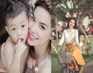 Top 10 bà mẹ nổi bật của showbiz Việt 2014