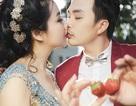 """Ảnh cưới ngọt ngào của """"cô dâu đại chiến"""" Lê Khánh"""