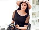 Hoa hậu Ngọc Hân khoe vẻ đẹp dịu dàng chiều Hà Nội