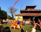 Tái hiện lễ dựng nêu xưa trong Hoàng cung Huế