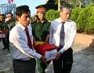 Truy điệu, an táng 13 hài cốt liệt sĩ hy sinh tại Lào