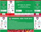 Giá vé trận tuyển Việt Nam-Arsenal mức cao nhất 1,5 triệu đồng