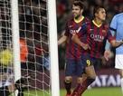Đại thắng Malaga, Barcelona trở lại ngôi đầu bảng
